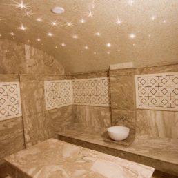 Хаммам из мрамора (проект дома в Геленджике)