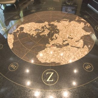 Пол из натурального камня в Сочи