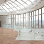 Холл из натурального мрамора в ЖК Александрийский маяк (Сочи)