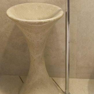Раковины из натурального камня в ЖК Александрийский маяк (Сочи)