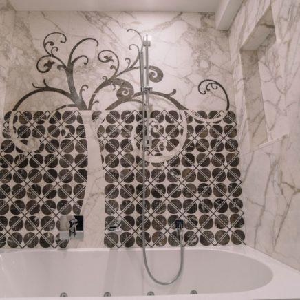 Ванные комнаты из натурального камня в Белграде