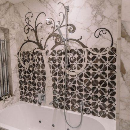 Ванные комнаты из природного камня в Белграде