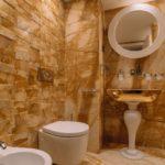 Ванные комнаты из натурального мрамора в Белграде