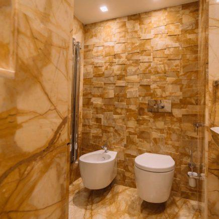 Ванные комнаты из природного мрамора в Белграде